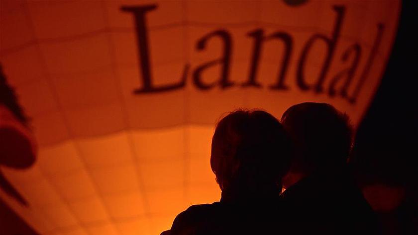 德國波恩舉行熱氣球節