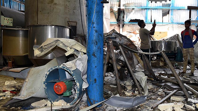 印度一工厂爆炸造成两名中国公民死亡