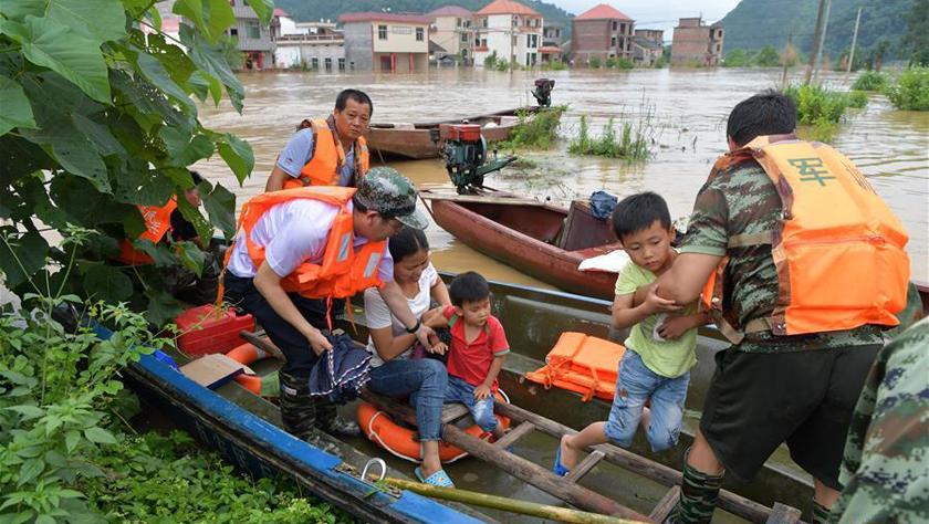 江西洪涝受灾人数超过200万