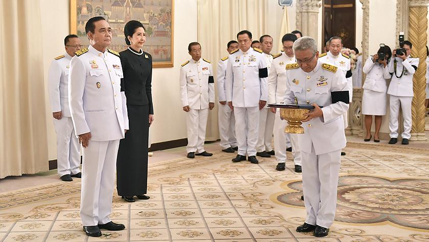 泰國國王批準巴育出任總理