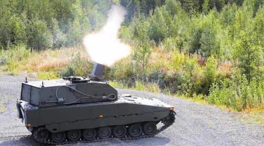 一分钟灭敌坦克连!瑞典新双管火炮亮相