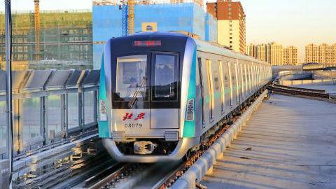 在这一指标上,中国地铁排名世界首位