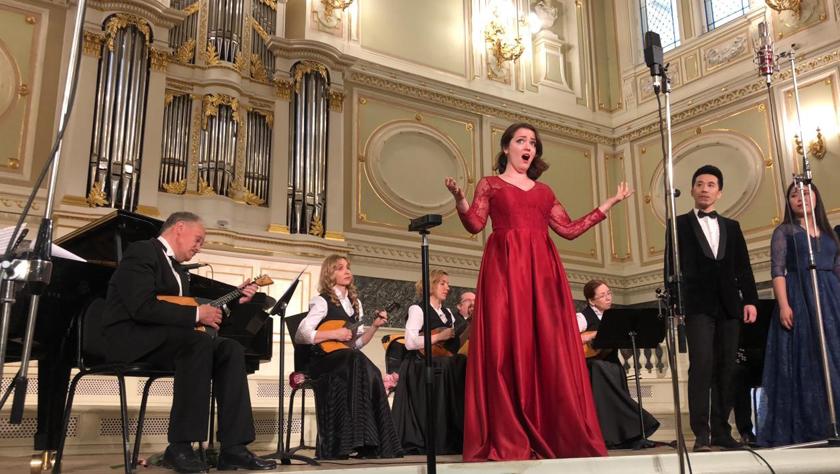圣彼得堡舉行慶祝新中國成立70周年暨中俄建交70周年音樂會
