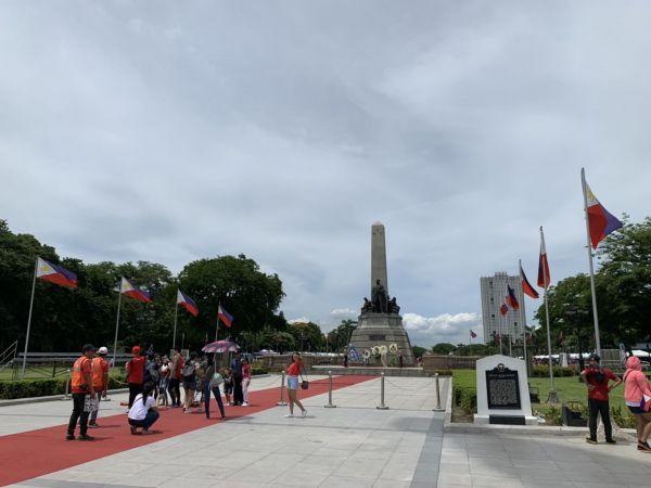8、2019年6月9日拍摄的黎刹广场(新华社记者 杨柯)