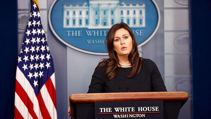 美國白宮新聞秘書桑德斯將離職