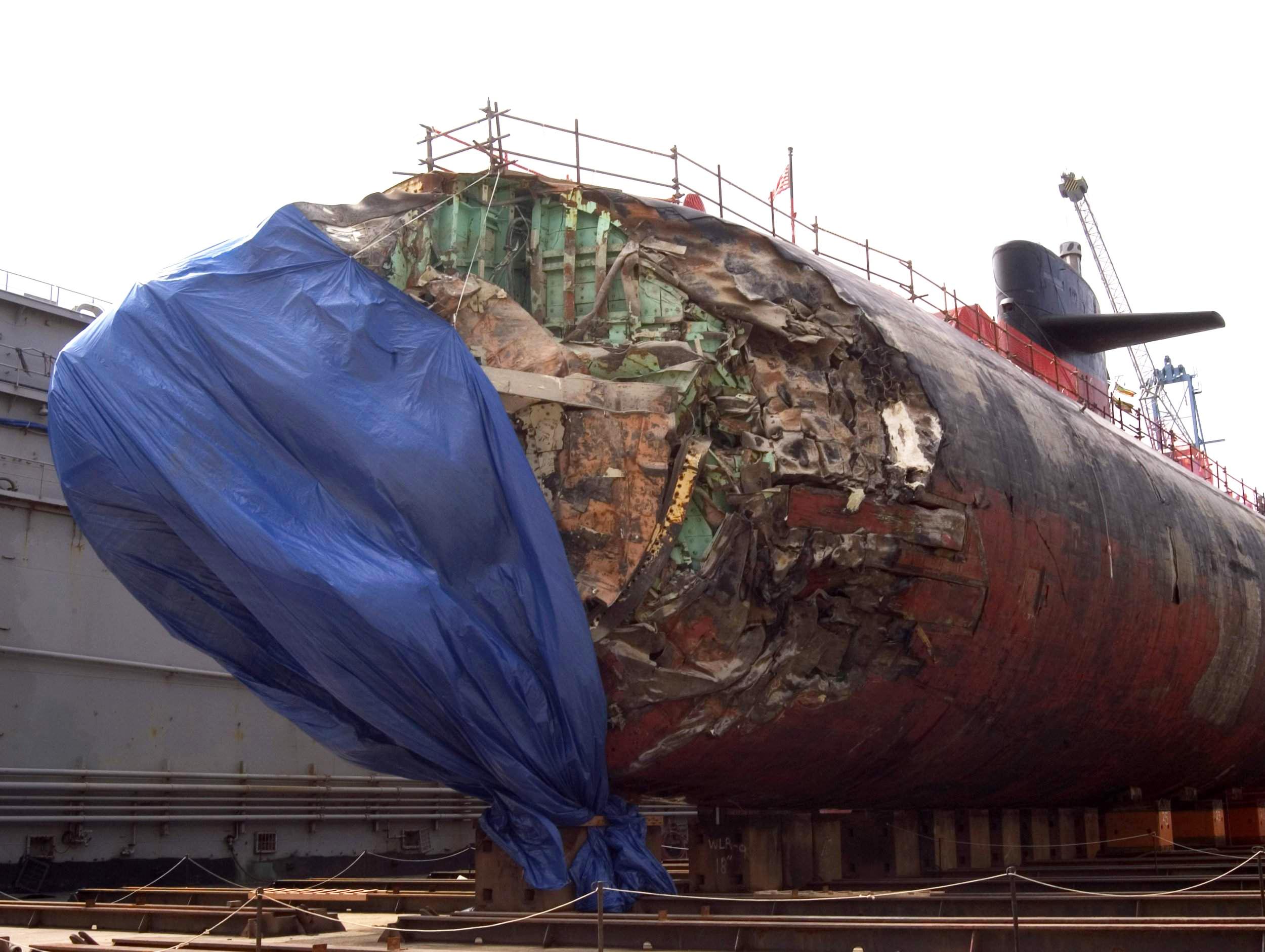 """军情锐评:从空中""""怼""""至水下!俄军核潜艇曾撞废美潜艇"""