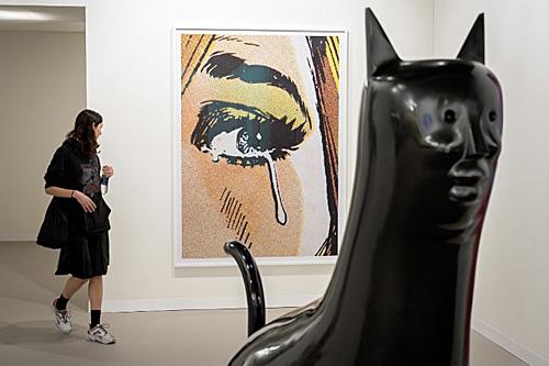 巴塞尔艺术展开幕 外媒:与贸易保护主义危机隔绝的世外桃源