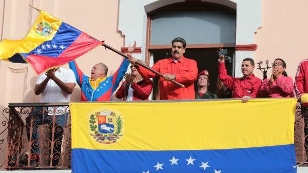 西媒:美施压未达到预期效果 放弃迅速推翻马杜罗政府