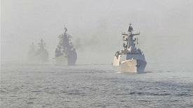 港媒:中俄军演助中国提升海军能力