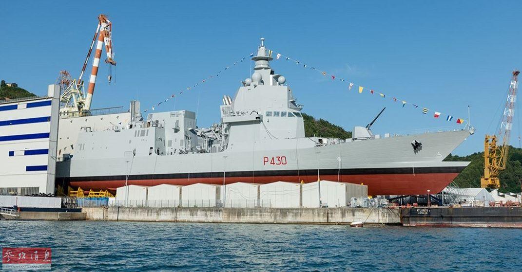 """""""双舰艏""""设计,即在舰艏水下部分再增加一个舰艏,据称能大幅改善高海况情况下的耐波航行性能。PPA全长143米,宽16.5米,采用模块化设计,分为多种量级,轻量型满载排水量5830吨,完全版则为6280吨。"""