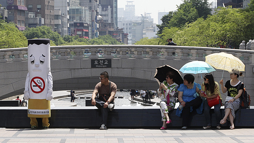 韩媒:韩国过半民众支持全面禁止生产销售香烟