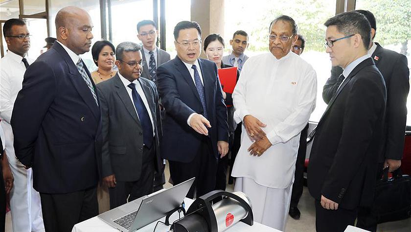 中国政府向斯里兰卡议会捐赠安保设备