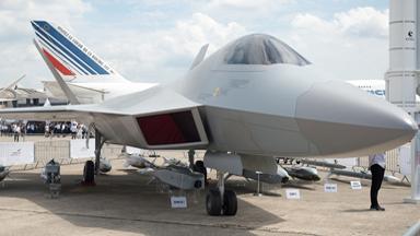 山寨F-22?土耳其隐身战机首现巴黎航展