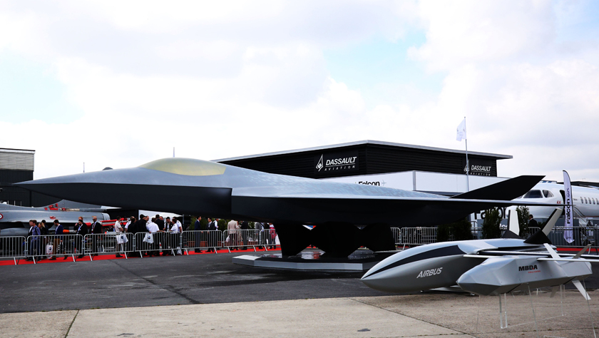 欧洲一款第六代战斗机预计2026年首飞