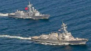 俄军高度关注美海军第2舰队波罗的海军演