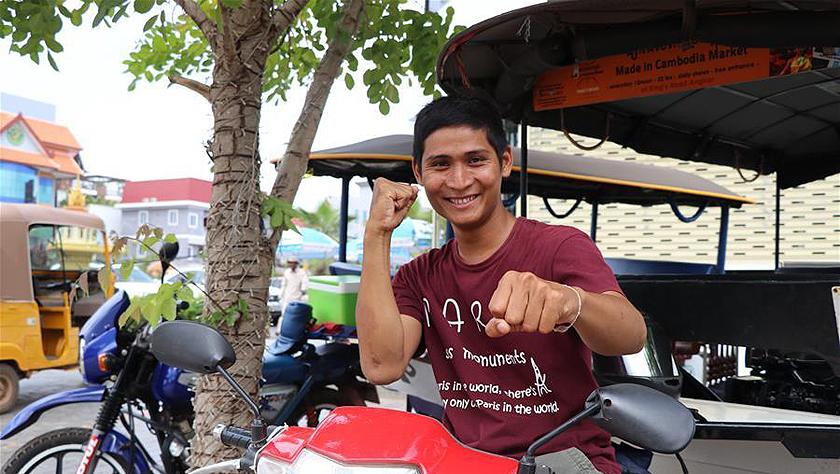 中柬文化合作項目讓柬埔寨嘟嘟車司機走上演藝之路