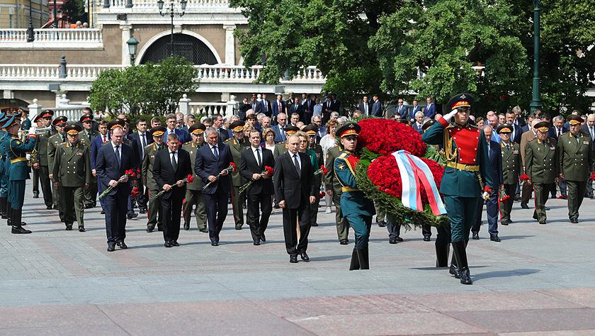 俄羅斯紀念衛國戰爭爆發78周年