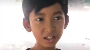 柬埔寨网红男孩在中国:喜欢中国文化 想到北京上大学