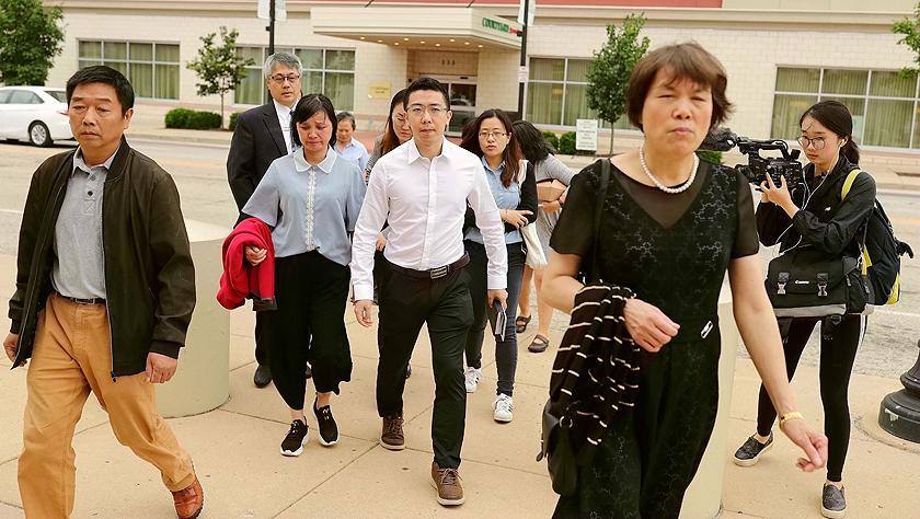 布伦特·克里斯滕森绑架和谋杀中国访问学者章莹颖的罪名成立
