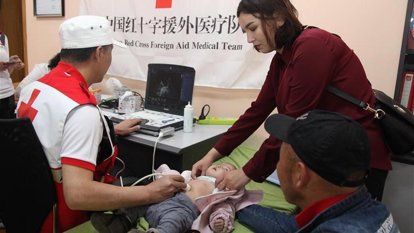 中国红十字援外医疗队在蒙古国开展新一期人道救治行动