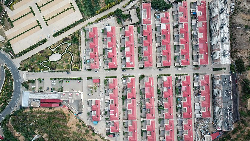 天空之眼瞰祖国:壮丽七十年·今日西柏坡