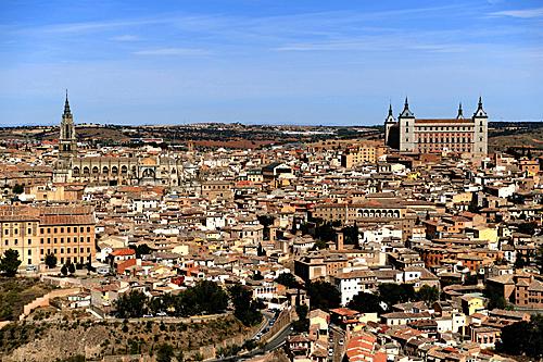 西班牙古城