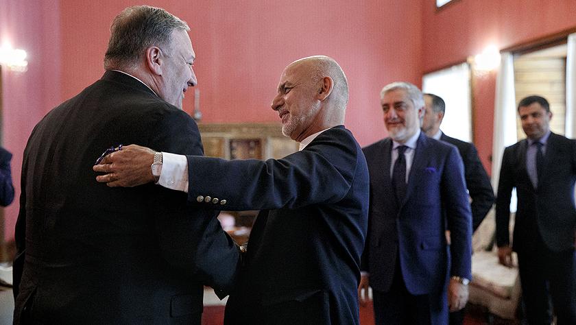 美国国务卿突访阿富汗
