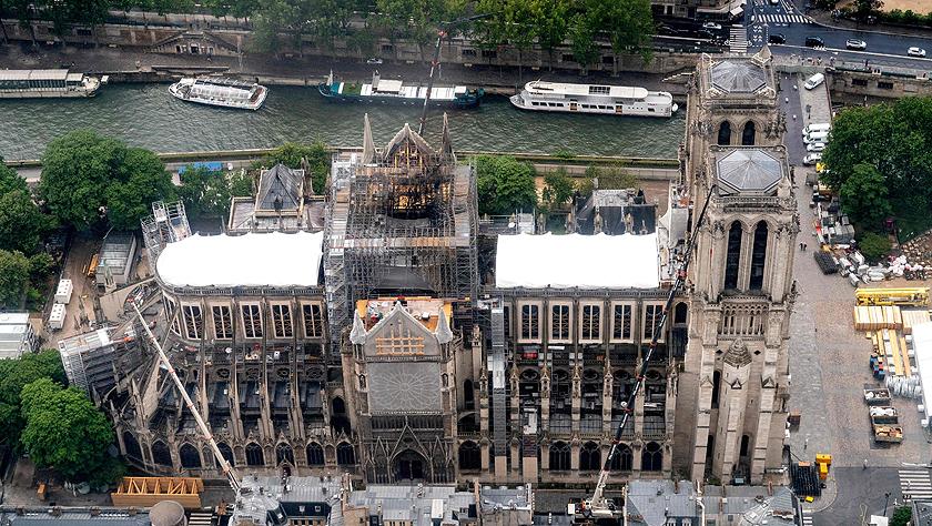 巴黎圣母院火灾调查初步排除人为纵火可能性