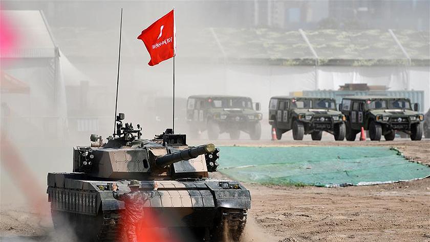 天津:防务车辆装备展 带你过足瘾