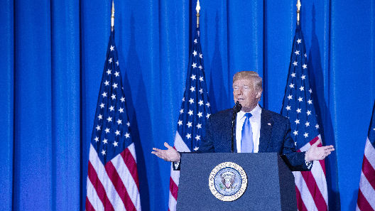 """特朗普邀金正恩到三八线""""握手问好"""" 朝方回应称提议非常有趣"""