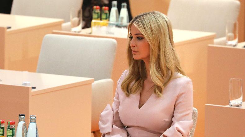 英媒:伊万卡G20峰会突兀插嘴 政要们一脸尴尬