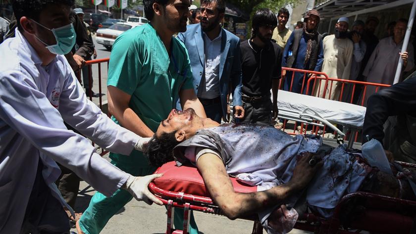 阿富汗首都遭爆炸袭击34人死亡