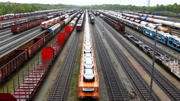 """看好""""一带一路""""前景 德铁拟增加对华列车货运"""