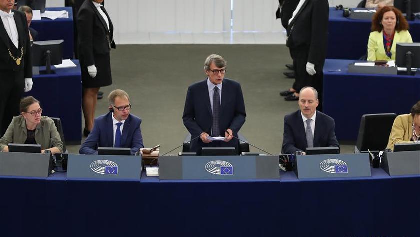 意大利议员萨索利当选欧洲议会新议长