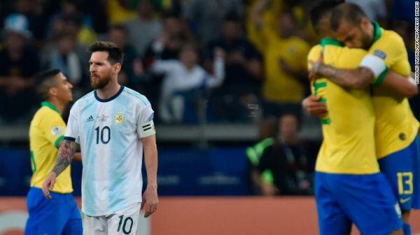 亚博:为国家队冲冠再失利赛后好脾气的梅西罕见怒了……