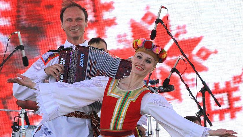 白俄羅斯隆重舉行獨立日慶祝活動