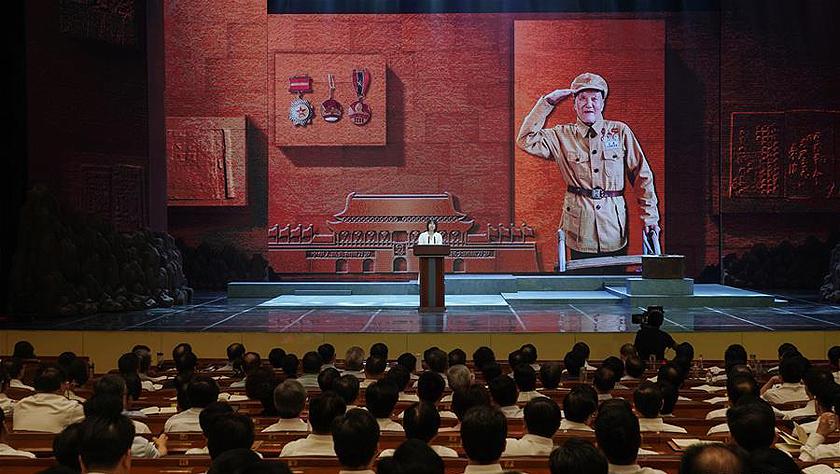 張富清同志先進事跡報告會在武漢舉行