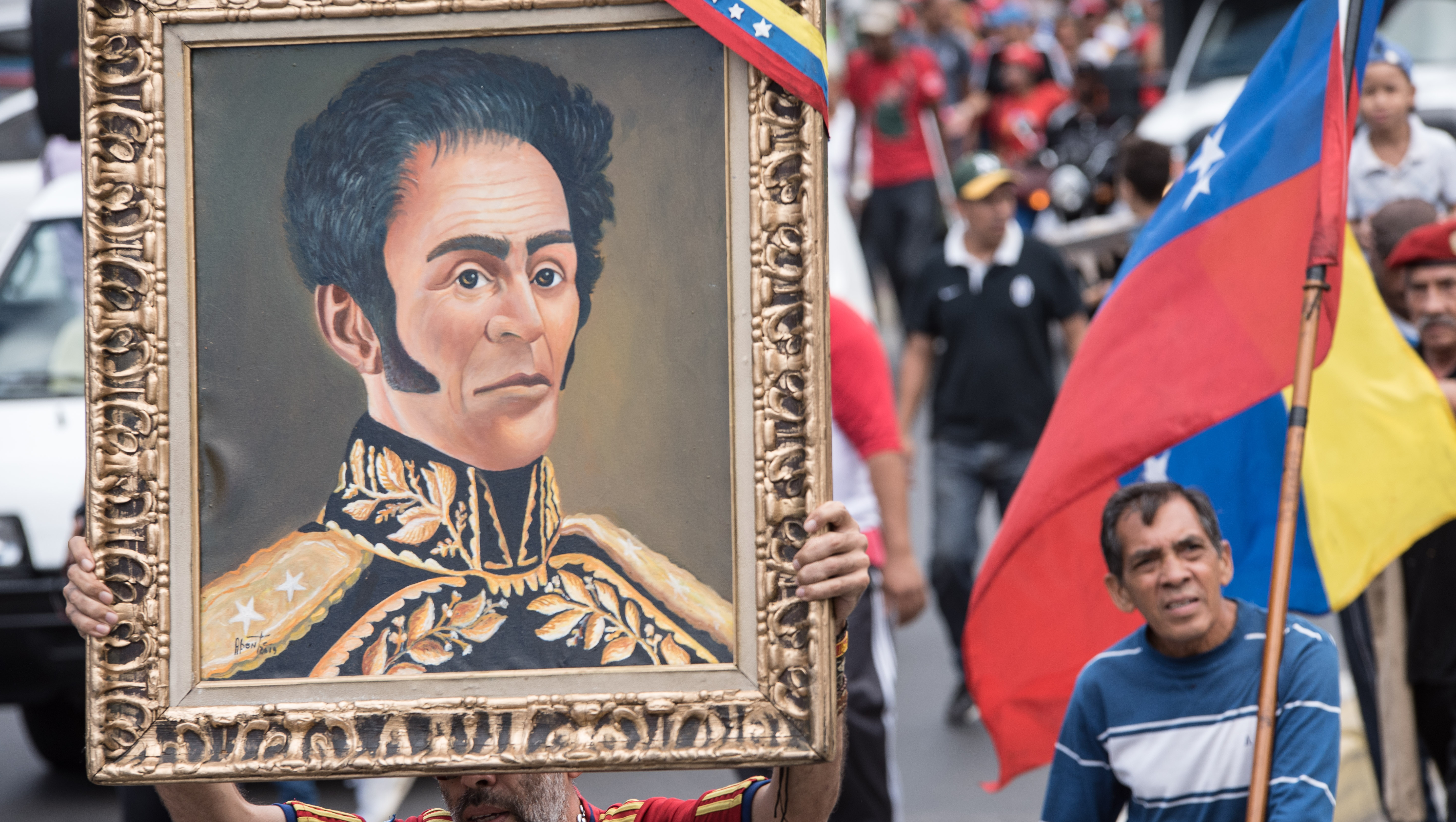 委内瑞拉民众庆祝独立日