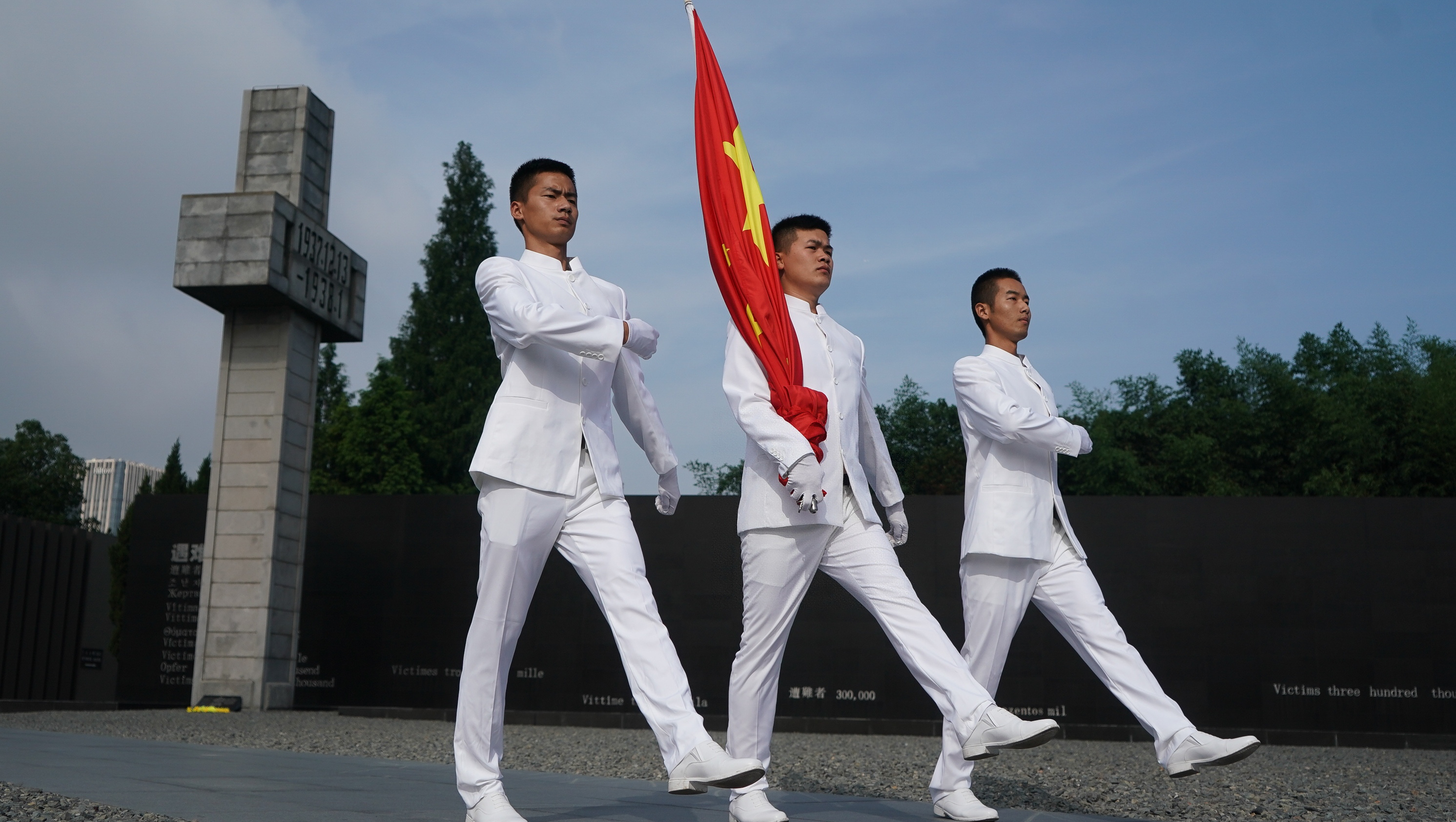 南京举行活动纪念全民族抗战爆发82周年