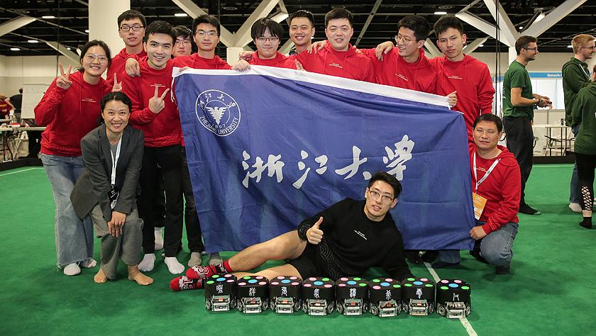 中國高校在2019年機器人世界杯上取得佳績