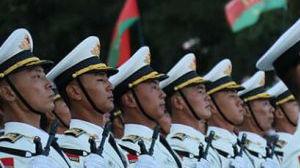 中国三军仪仗队参加白俄阅兵 受当地媒体盛赞