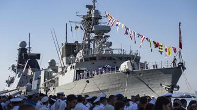 拉美军壮胆!美乌海上联合军演开幕