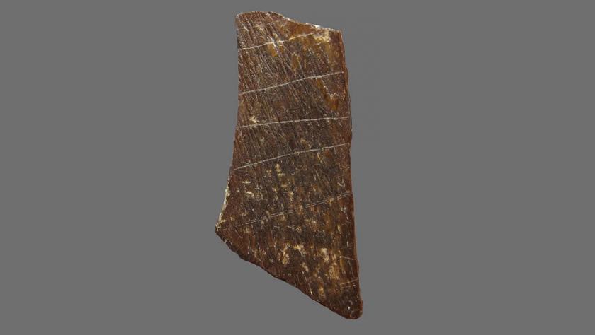 """""""许昌人""""遗址发现已知最古老的人工刻划图案 距今约11万年"""