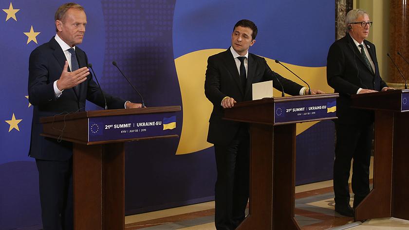 乌克兰-欧盟峰会强调继续深化乌欧合作