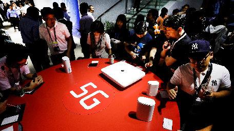 外媒:5G在鸿禾娱乐官网登录开始得到广泛应用 欧美仍在启动阶段