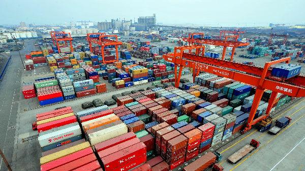 """中国贸易对象中,美国位置已被""""它""""取代"""