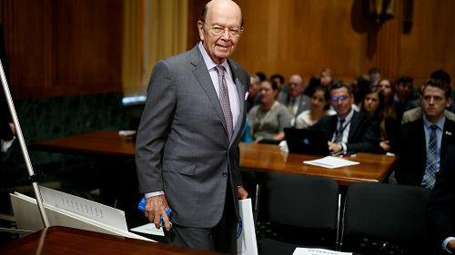 外媒:特朗普考虑免除商务部长罗斯职务