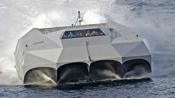 美军这艘隐身5体船什么来头?所用材料与F-35同款