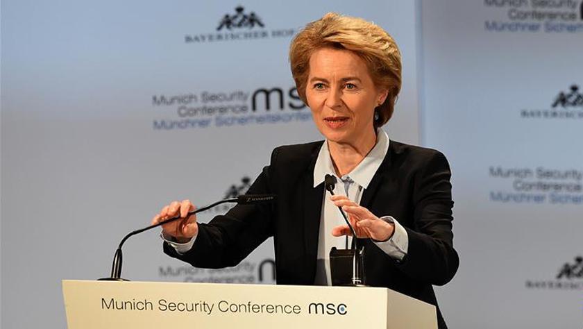冯德莱恩宣布辞去德国防长职务