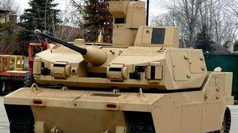 美陆军将测试无人战车实弹打靶 士兵可遥控作战